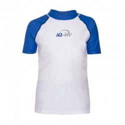 iQ Kids UV 300 Shirt Blue White
