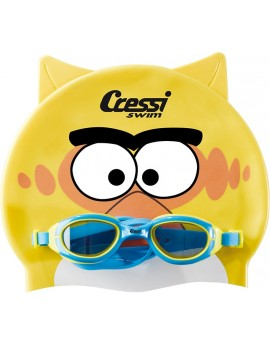 Cressi Kid Set Googles + Cap