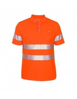 iQ UV Polo Shirt UV50+ EN20471 Kl. 2