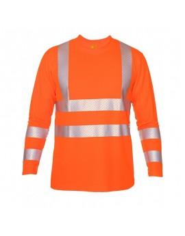 iQ UV Langarm Shirt UV50+ EN20471 Kl. 3