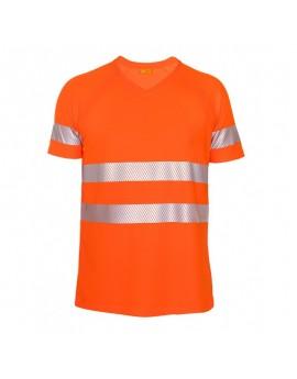 iQ UV T-Shirt UV50+ EN20471 Kl. 2
