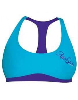 Camaro Aqua Skin Bikini Top