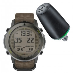 Suunto D6i Novo Stealth Zulu + Transmitter + USB Interface + Divemanager SDM5