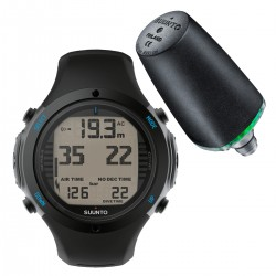 Suunto D6i Novo Black + Transmitter + USB Interface + Divemanager SDM5 + Verlengband