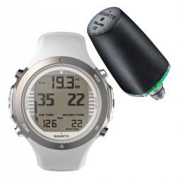 Suunto D6i Novo White + Transmitter + USB Interface + Divemanager SDM5 + Verlengband