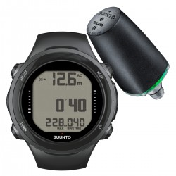 Suunto D4i Novo Black + Transmitter + USB Interface + Divemanager SDM5 + Verlengband