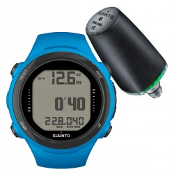 Suunto D4i Novo Blue + Transmitter + USB Interface + Divemanager SDM5 + Verlengband