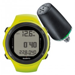 Suunto D4i Novo Lime + Transmitter + USB Interface + Divemanager SDM5 + Verlengband