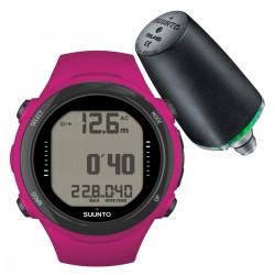 Suunto D4i Novo Pink + Transmitter + USB Interface + Divemanager SDM5 + Verlengband