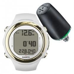 Suunto D4i Novo Light Gold + Transmitter + USB Interface + Divemanager SDM5 + Verlengband