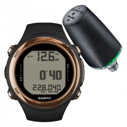 Suunto D4i Novo Copper + Transmitter + USB Interface + Divemanager SDM5 + Verlengband