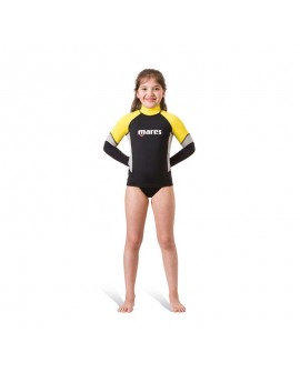 Mares Rash Guard LS UPF Block 80+ Junior