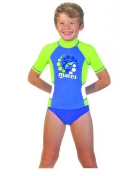 Mares Rash Guard Korte Mouw Kid Boy
