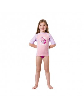 Mares Rash Guard Korte Mouw Kid Girl