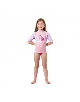 Mares Rash Guard Short Sleeve Kid Girl