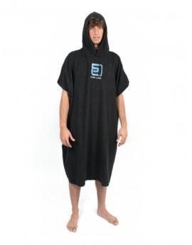 SurfLogic Zwart Towel Poncho