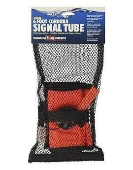 Signal Tube Orange with Ventiel