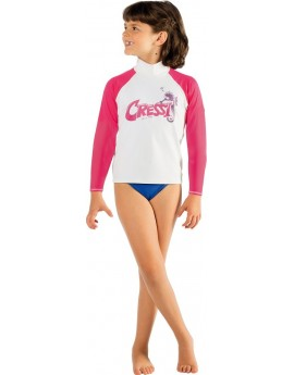 Cressi Rash Guard Long Junior Seahorse
