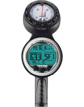 Cressi Giotto Console 3 Kompas + Manometer