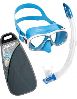 Cressi Marea VIP Colorama Junior Snorkelset