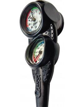 Cressi Console 3 Manometer + Dieptemeter + Kompas