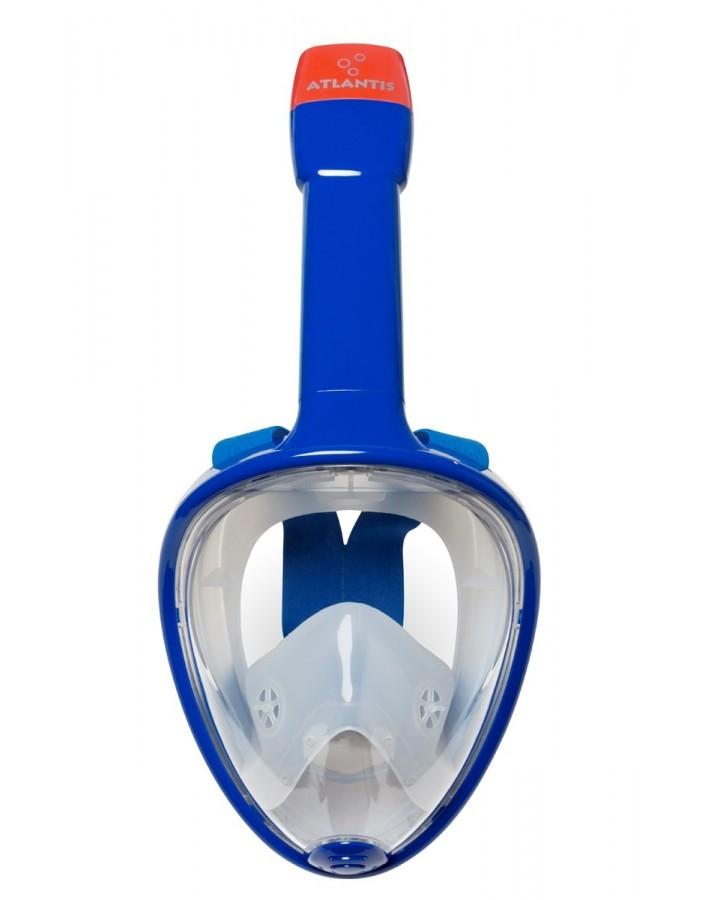 Atlantis Volgelaat Snorkelmasker Bright Blue