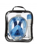 Atlantis Volgelaat Snorkelmasker Wit/Blauw
