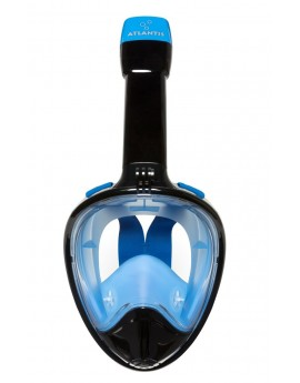 Atlantis 2.0 Full Face Snorkel Mask Black/Blue