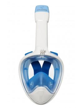 Atlantis 2.0 Volgelaat Snorkelmasker Wit/Blauw
