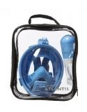 Atlantis 2.0 Kids Volgelaat Snorkelmasker Blauw