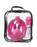 Atlantis 2.0 Kids Volgelaat Snorkelmasker Pink