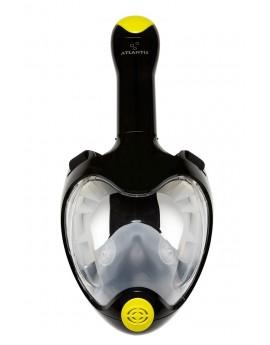 Atlantis TriTon Full Face Snorkel Mask Black/Lime