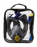 Atlantis TriTon Volgelaat Snorkelmasker Donker Blauw/Lime