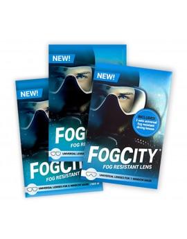 FogCity Fog Resistant Lens Kit 2 Window Duikmasker