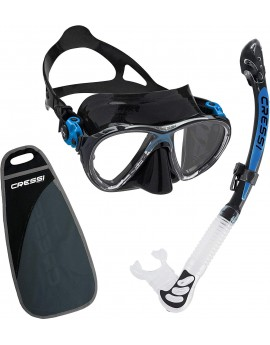 Cressi Big Eyes Evolution & Alpha Ultra Dry Snorkelset