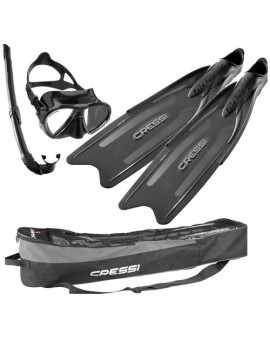 Cressi Gara Professional LD Bag Freediving Set