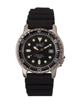 Impact Black Pearl Dive Watch