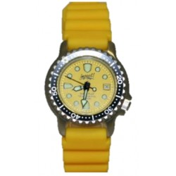 Impact Yellow Pearl Lady Dive Watch