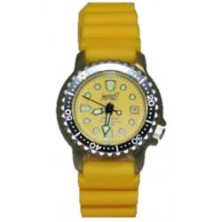 Impact Yellow Pearl Lady Duikhorloge