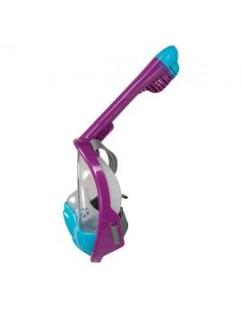 Atlantis 3.0 Kids Full Face Snorkel Mask Purple/Blue