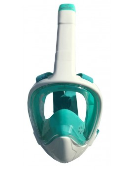 Atlantis 3.0 Full Face Snorkel Masker White