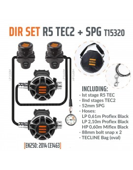 TecLine R5 TEC2 DIR Set (SPG+HP Hose)
