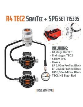TecLine R4 TEC2 SemiTec Set (SPG+HP Hose)