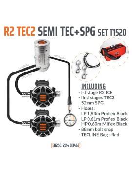 TecLine R2 TEC2 SemiTec Set (SPG+HP Hose)