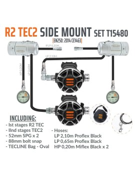 TecLine R2 TEC2 Side Mount