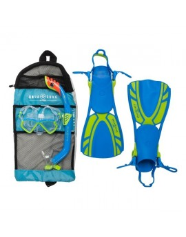 Aqua Lung Regal Junior Blue Snorkel Set