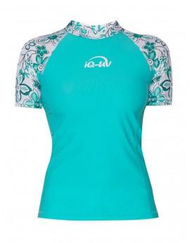 iQ UV 230 Shirt Waterspot Hippie Turquoise