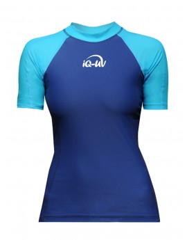 iQ UV 300 Shirt Watersport Turquoise Blue