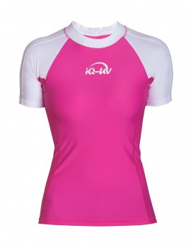 iQ UV 300 Shirt Watersport White Pink