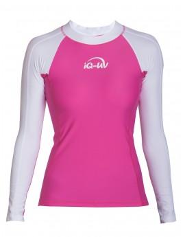 iQ UV 300 Shirt LS Watersport White Pink